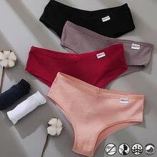 FINETOO M-XXXL Culotte En Coton femmes Sous-Vêtements Femmes Sous-Vêtements Lingerie pour Dames Sexy String Slip Brésilien Grande Grande Taille