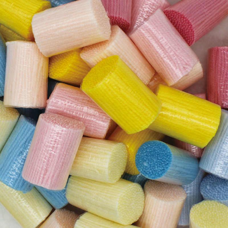 Latch-Haken-Kits-DIY 3D Segment Stickerei Kissen Bestickt Handwerk Kissen Fall Yirn Paket Grob Wolle Kreuz stich