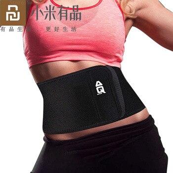 Youpin AQ cintura prenda térmica entrenamiento cinturón de sudor cintura faja corsé mujeres moldeador abdominal Shapewear ejercicio para quemar grasa correa de modelado