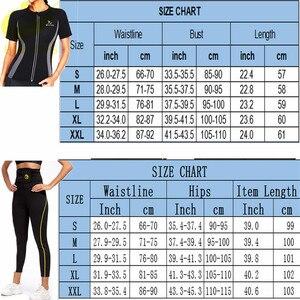 Image 5 - LAZAWG Entrenador de cintura de neopreno para adelgazar, pantalones de entrenamiento de cintura, moldeador de cuerpo para perder peso