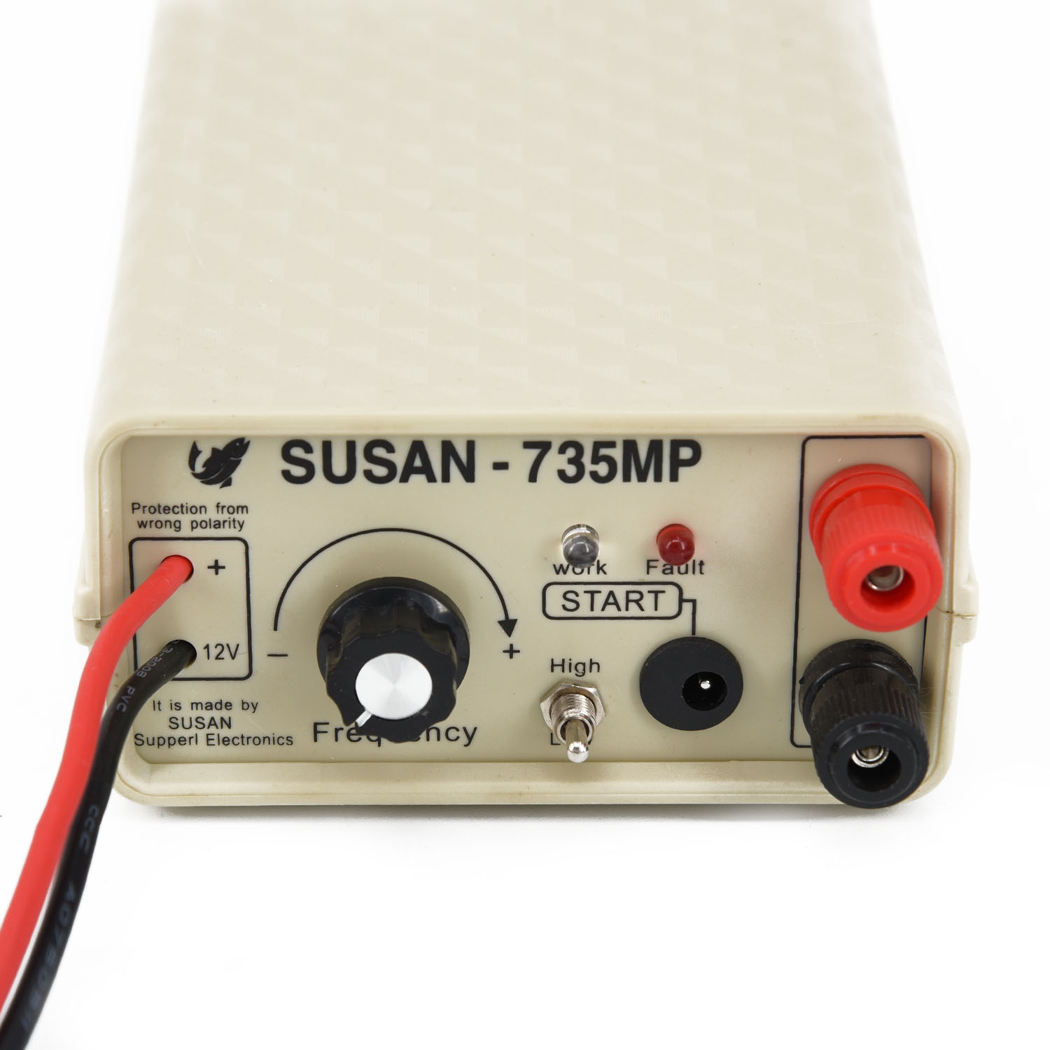 W/ Fuse 735MP Ultrasonic Inverter 200 *110 * 60mm 1000V Max Fisher Electronic Fishing Durable