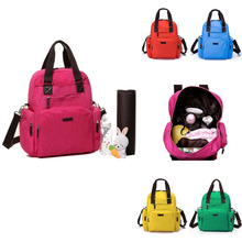 COLORLAND brand multifunctional diaper bag waterproof nylon baby solid color backpack mummies pregnant women package