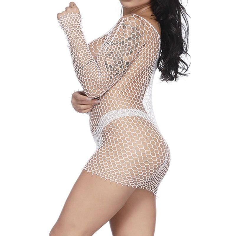 Women Sexy See Through Bikini Cover Up Sexy font b Lingerie b font Sleepwear Swimwear Long