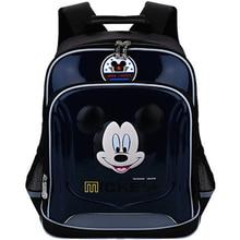 2020 New Kids School Bags Black Backpack  Kindergarten Children Cartoon Mickey School Bags Minnie Backpack Waterproof  Satchel