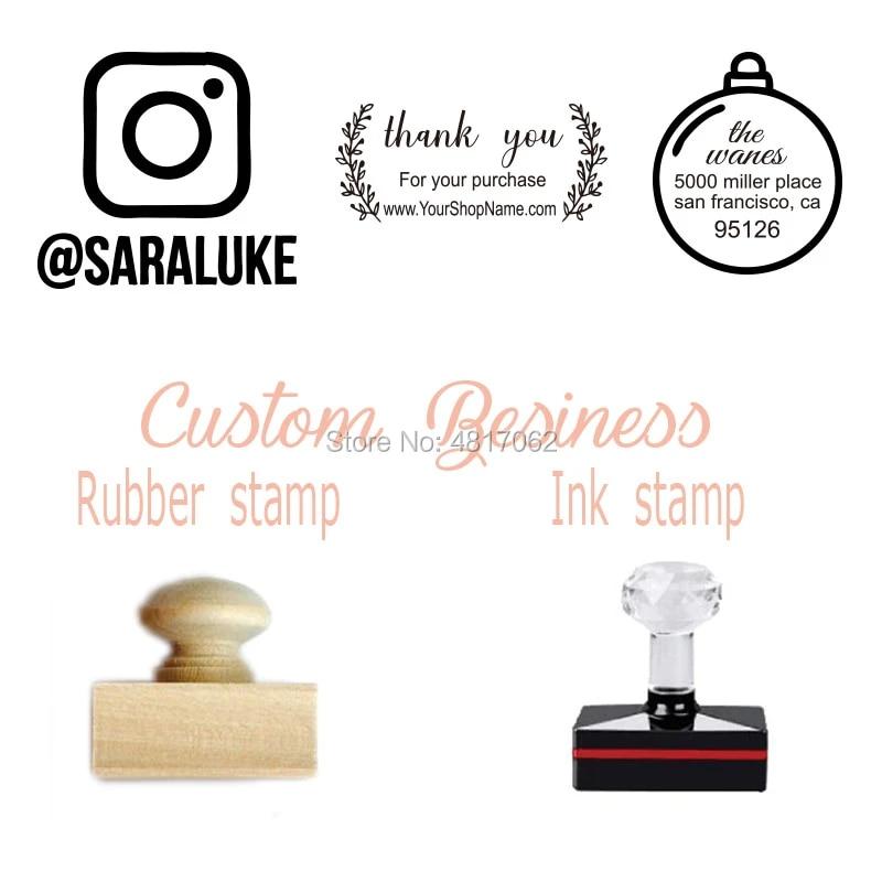 Custom Logo Stamp Rubber