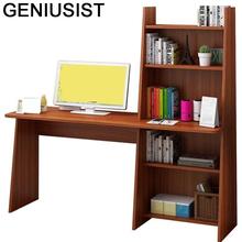 Escritorio Mueble Schreibtisch łóżko biurowe Pliante Tafelkleed Notebook nocna Mesa biurko podstawka do laptopa stół stołowy z regałem tanie tanio GENIUSIST NONE HOME CHINA Laptop biurko