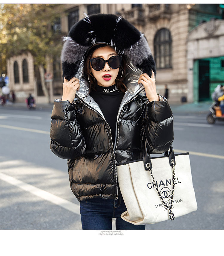 Hcaae1d3d495e48eca50ceb30750cfa96e Natural Fox Fur Winter Jacket Women Gold Warm Parka Real Fur Down Coat Female White Duck Down Jacket Winter Waterproof Overcoat