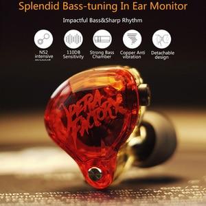 Image 2 - Opera Factory OM1 OF Audio Diamond Bass DJ Super Earphone Headset Earplug 2Pin HIFI Custom 3.5mm In Ear Earphone Dynamic Drive