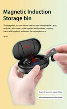 Беспроводная стереогарнитура Qi TWS, Спортивная мини-гарнитура с двумя ушами 5,0, высокое качество звука, водонепроницаемая игровая беспроводн...