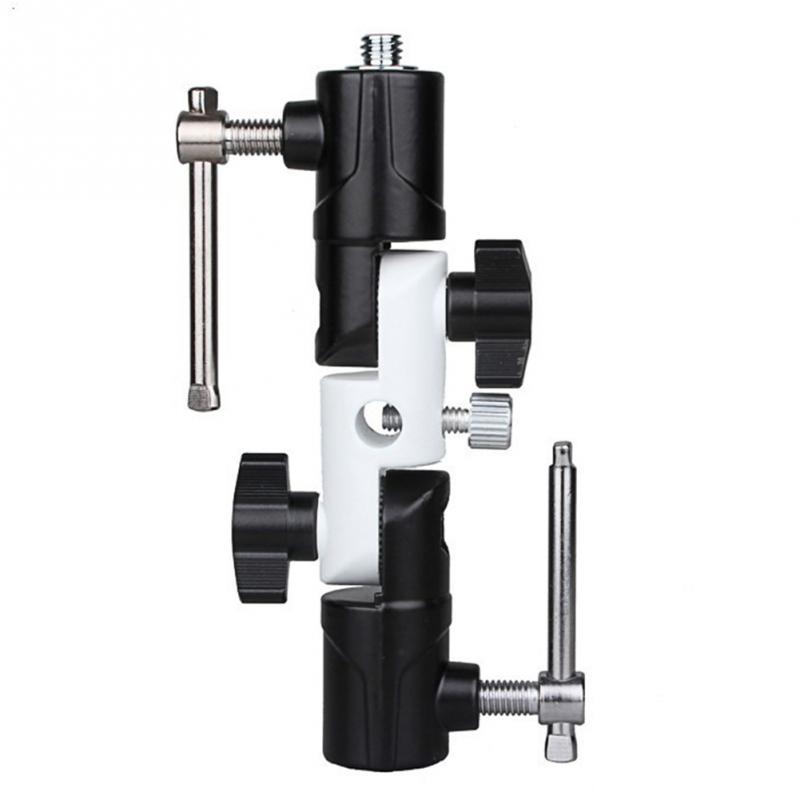 Light U-Shaped Swivel Flash Holder Three-Section Bracket Light Stand / Tripod / Flash / Photography Umbrella Universal