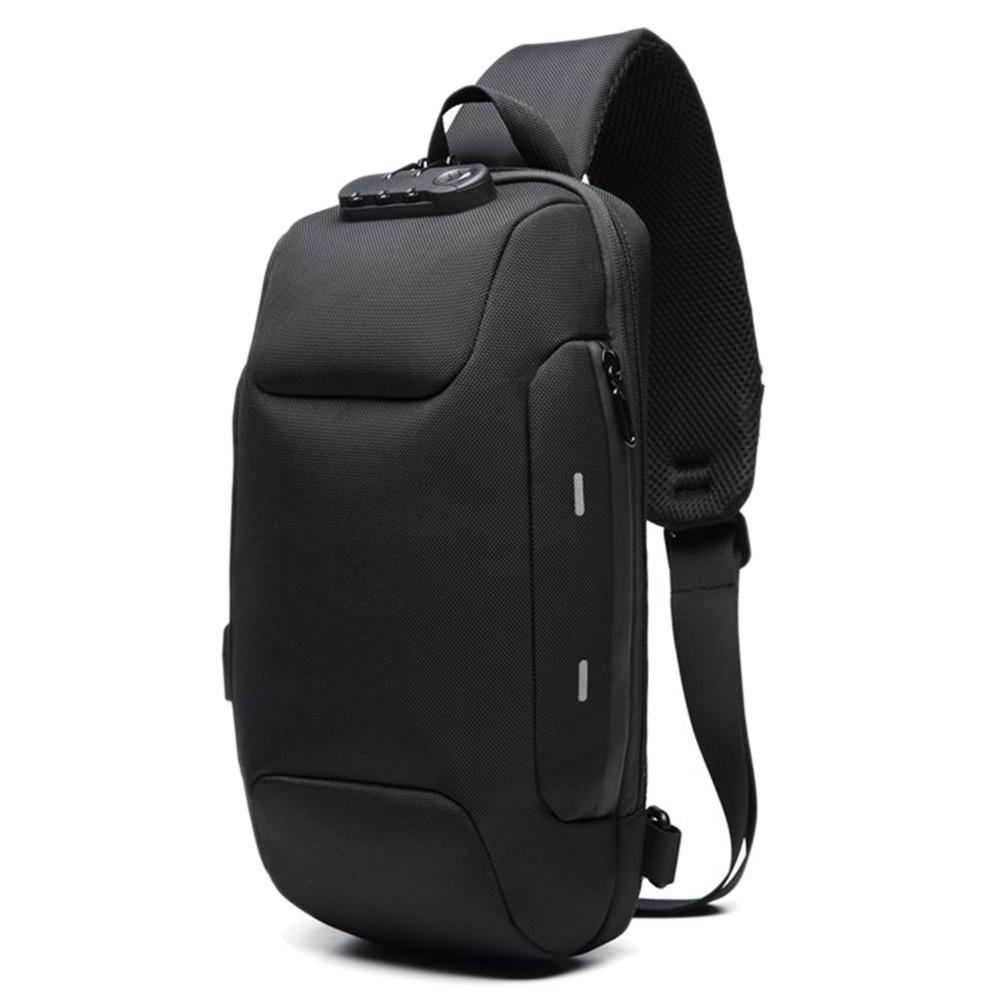 2019 New Men Water Resistant Backpack Anti-Theft With 3-Digit Lock Backpack For Mobile Phone Travel Male Bag Mochila Masculina cb 8008