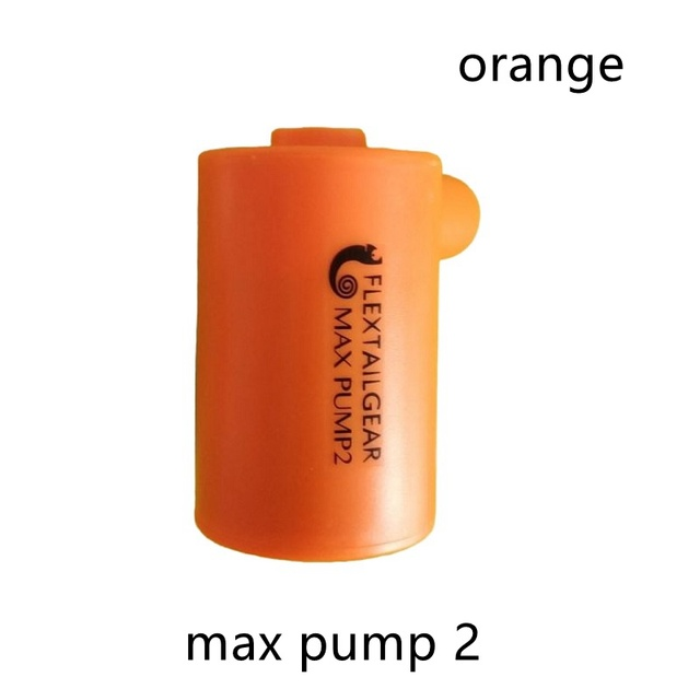 """FLEXTAILGEAR Max Pump 2 Ultralight USB Rechargeable Waterproof Air Pump  Inflate Deflate for Swimming Ring Camping Pad Mattress