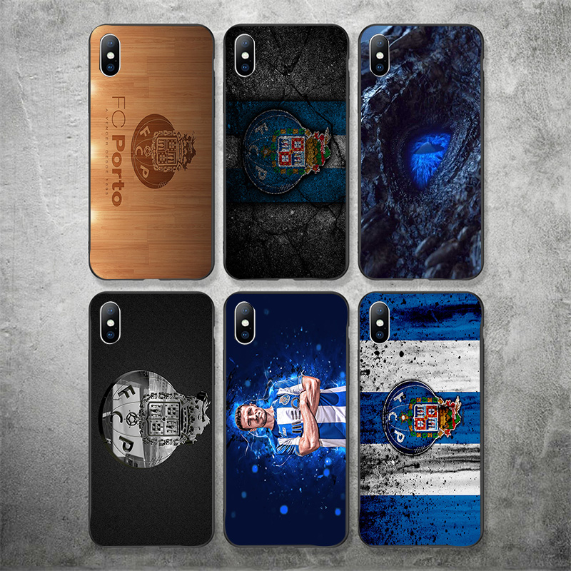 Phone-Case Yinuoda Tpu-Cover 7plus For FC Porto IPhone-shell/Diy/Picture Black Soft 6S