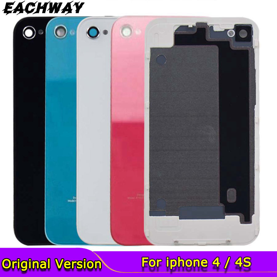 iphone 4S 4G Black White Back Cover
