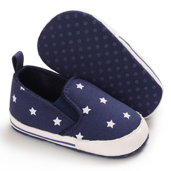 Toddler Baby Shoes Boys Girls Casual Star Sneaker Cotton Soft Anti-Slip Sole Newborn Infant First Walkers Canvas Crib Shoes fashion newborn unisex shallow soft sole babies shoes cotton solid toddler moccasins infant crib outdoor boys girls first walker