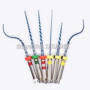 Image 5 - Arquivos odontológicos rotativos 02 04 06 acessórios da agulha do atarraxamento arquivos endônticos uso para a ativação térmica da limpeza do canal da raiz