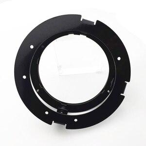 "Image 2 - 5 3/4 Inch Round Headlight Ring Mounting Bracket Ring for Motorcycle 5.75"" Headlight Headlamp Black/Chrome"