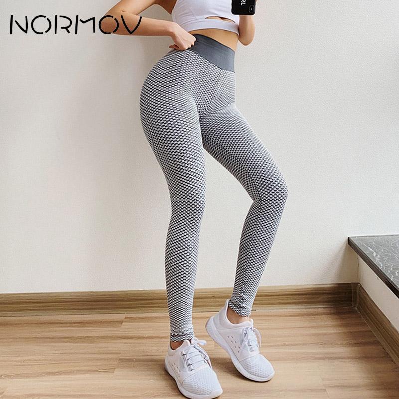 Женские бесшовные брюки для йоги NORMOV, обтягивающие дышащие спортивные Леггинсы для занятий фитнесом и фитнесом