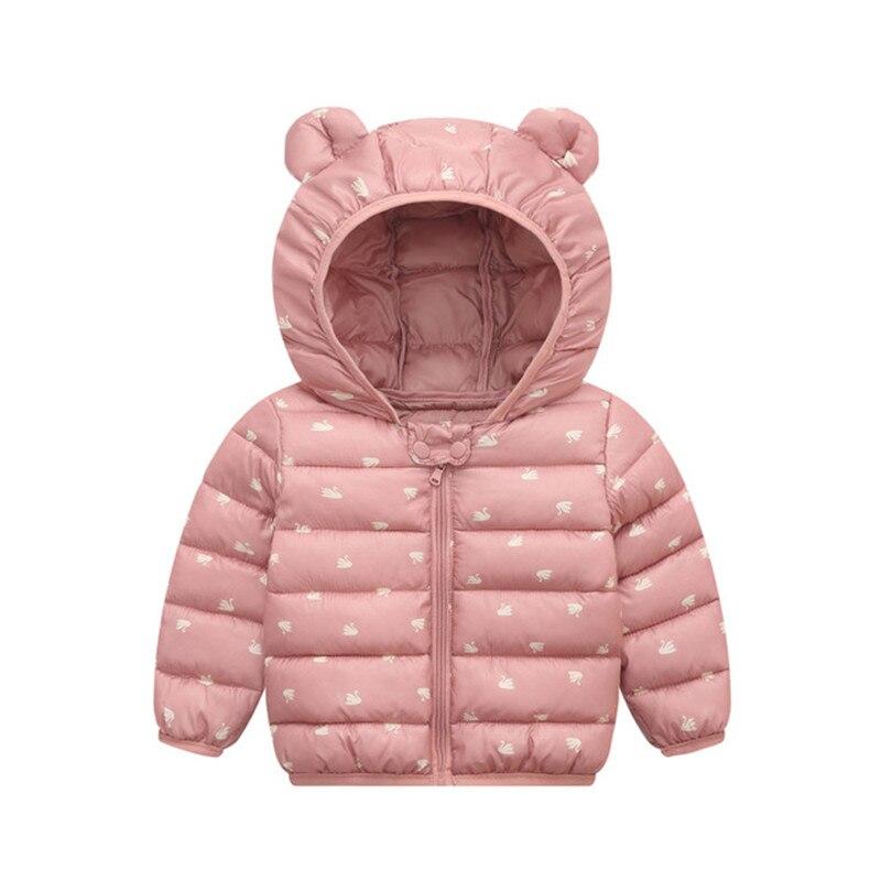 Пуховики с капюшоном для маленьких девочек; Детские пальто; Осенняя теплая куртка с рисунком для мальчиков; Куртка на молнии для маленьких девочек; Верхняя одежда Куртки и пальто      АлиЭкспресс
