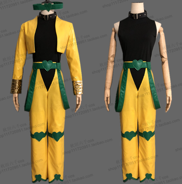 JoJo's Bizarre Adventure Dio Brando Cosplay Costume Custom