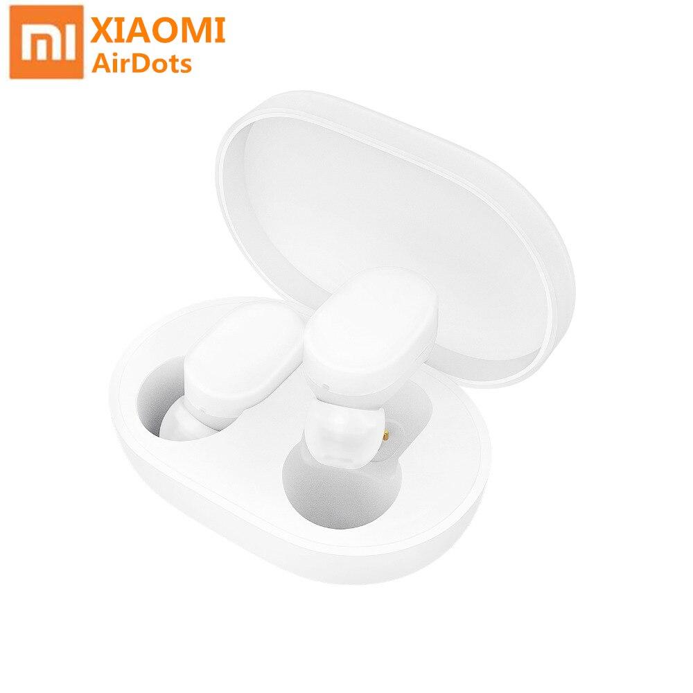 Original Xiaomi Mi Airdots Pro White True Wireless Earphone TWS Bluetooth V5.0 Headset Stereo Noise Reduction Air  In Ear Earbud