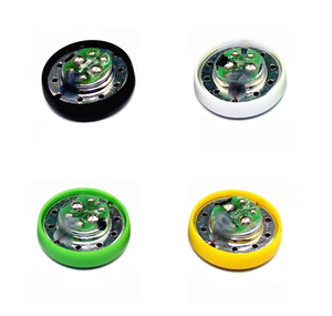 Image 2 - GHXAMP A8 14.2mm מלא טווח אוזניות דינמי אוזניות רמקול DIY תיקון חלקי 17.5OHM 2pcs