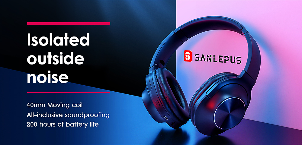 Sanlepus tws 5.0 fones de ouvido sem