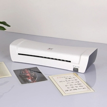 XXUC Multifunctional A4 Laminator Hot and Cold  Mode Available Laminating Width 3-9 inches for A4/A5/A6 Document Photo Files