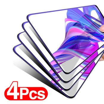 4PCS Tempered Glass on For Samsung Galaxy A50 A51 A71 Protective Glass For Samsung A50S A40S A30S A90 A20E Screen Protector Film 1
