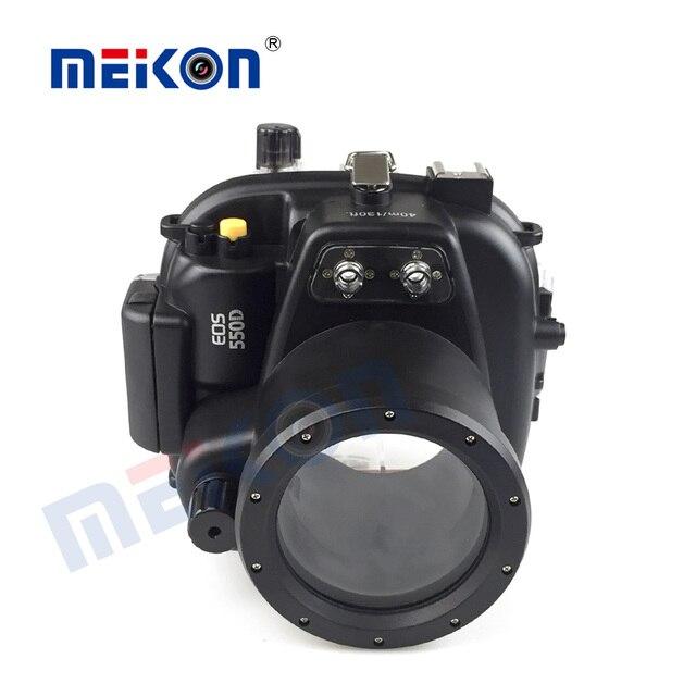 الغوص كاميرا القضية لكانون EOS 550D/600D للماء 40M المياه الرياضة السباحة الانجراف تصفح كاميرا واقية حالة حقيبة 1 قطعة