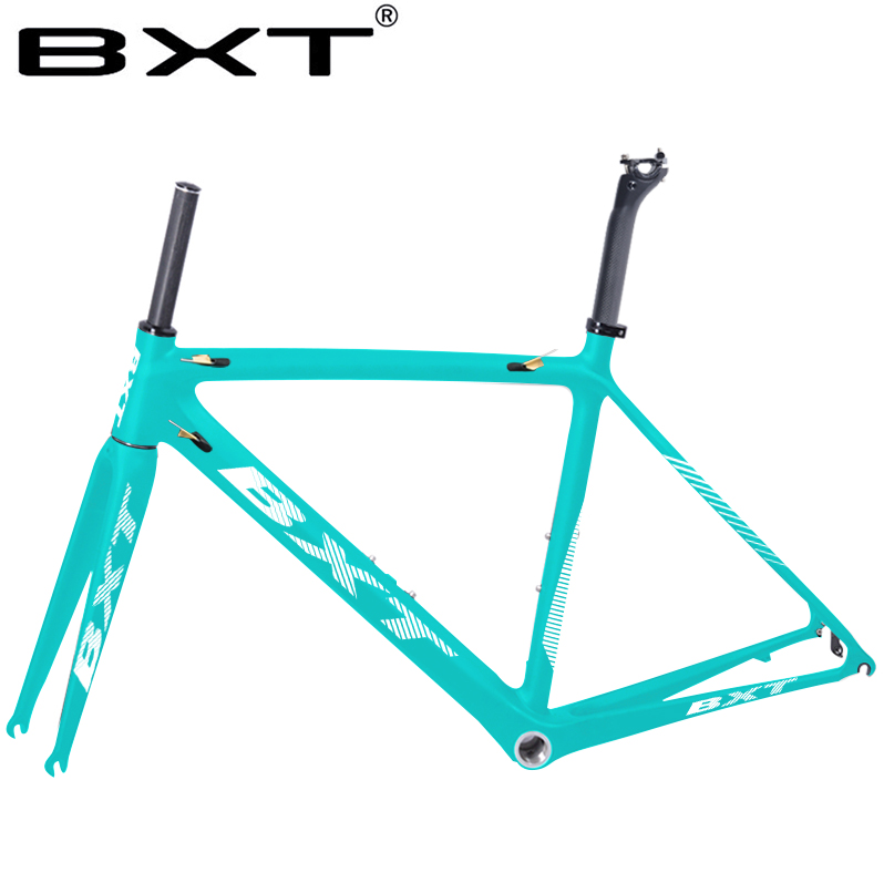 2019 New Aero Carbon Road Frame Chinese Road Bicicleta Carbon Frame 50/53/55cm Cadre Carbon Route Carbon  Bicycle Frame