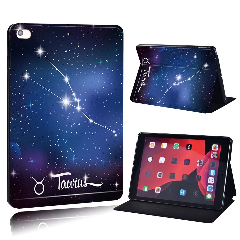 star sign - Taurus Blue For Apple iPad 8 10 2 2020 8th 8 Generation A2428 A2429 PU Printed Star Sign