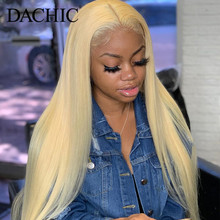 613 Blonde Lace Front Human Hair Wigs Straight HD L