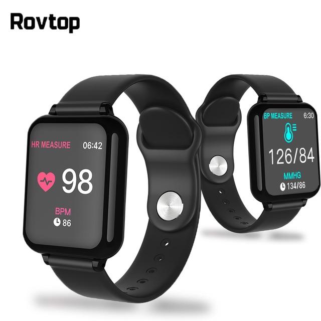 B57 Smart Orologio Da Polso Impermeabile Intelligente Wriatband Frequenza Cardiaca Pressione Sanguigna Monitoraggio Dellossigeno Smartband Smartwatch Braccialetto Intelligente CY05