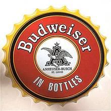 Знак Ретро Пиво Логотип Бренда бутылочные крышки металлическая
