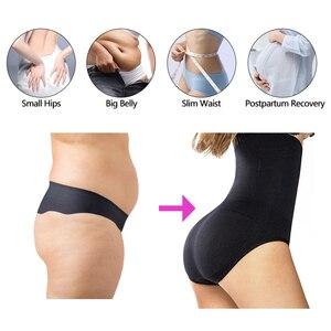 Image 2 - Frauen Kolben heber Shaping Panty Hohe Taille Trainer Körper Former Nahtlose Slip Firm Bauch Steuer Höschen Abnehmen Unterwäsche