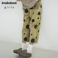 Женские повседневные брюки imakokoni с волнистыми углами осенние