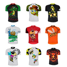 Pro Team honeybee-Camiseta de manga corta para ciclismo, camisetas de secado rápido para bicicleta de montaña, ropa antideslizante de silicona para verano