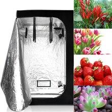 Led Grow Lighting Крытая гидропоника, шатер для выращивания, Гроу-рум для коробка для выращивания растений, светоотражающий майлар нетоксичный садовый Теплицы 60/80 см