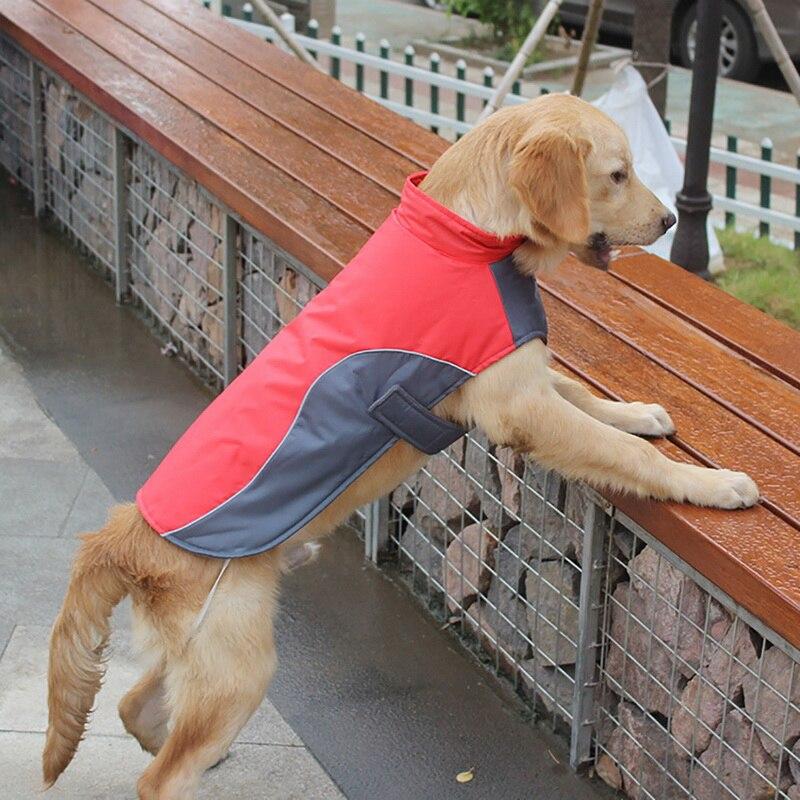 Dog Winter Coat Warm Waterproof Puppy Jacket Vest font b Pet b font Clothes Apparel Dog