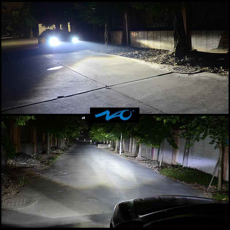 NAO H4 светодиодная h7 светодиодные фары h1 светодиодные лампы автомобиль свет h3 hb4 h11 светодиодные лампы для автомобиля 12 V h27 880 9006 9005 hb3 h9 h8 h13 HB5 72 W фары для лампы