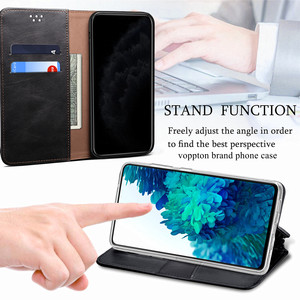 Image 5 - Luxury Glossy Leather Flip Case For Xiaomi POCO X3 Pro Case Magnetic Wallet Card Holder Flip Cover For POCO F3 Capa