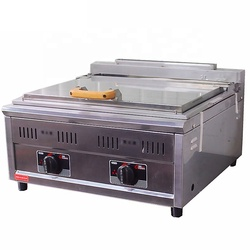 Thermal insulation protection easy operate Pan fried Meat Dumplings machine Table type single slot Commercial bread machine