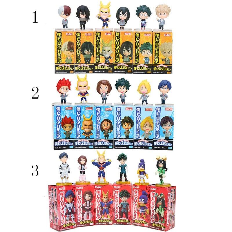 My Hero Boku no Academia Izuku Shoto Bakugo 15cm Toy Plush Doll Cosplay Boy Gift
