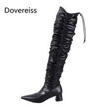 Dovereiss; Модная женская обувь; Сезон Зима; Новые Элегантные