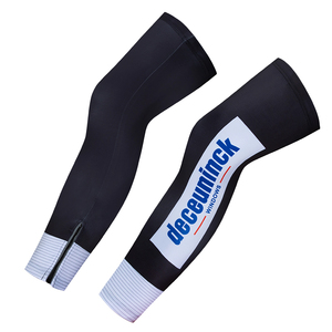Image 5 - Team Blue Quick Step Cycling Kleding 20D Bike Shorts Volledige Pak Ropa Ciclismo Quick Dry Fietsen Jersey Maillot Mouwen Warmers