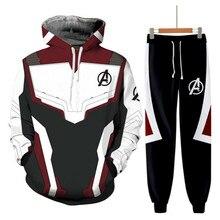 Avengers 4 Endgame the Advanced Tech suits Coat 3D print Hoodie Mens Zipper Casual Hiphop Jacket Cosplay Costume Sweatshirts