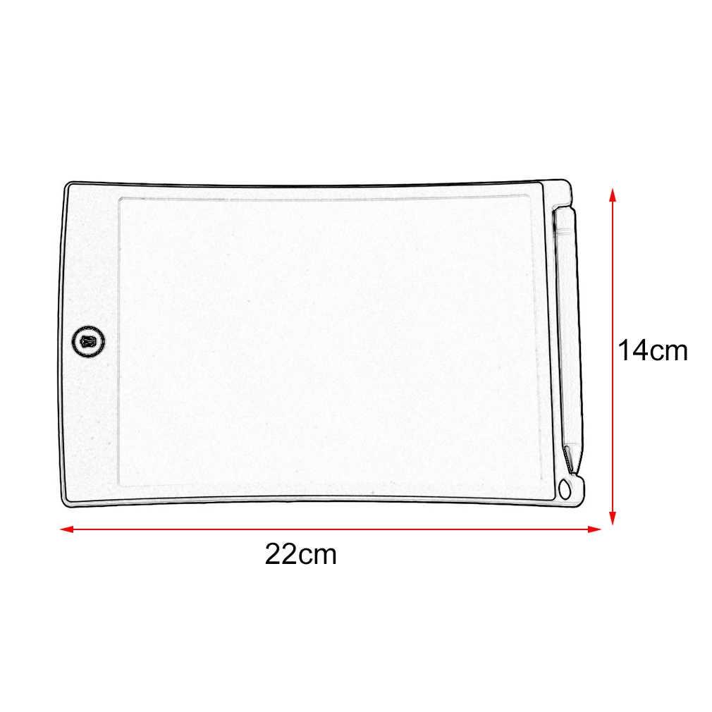 Màu Sắc Đen Di Động Màn Hình LCD 8.5 Inch Viết Bảng Vẽ Chữ Viết Tay Ban Bảng Thông Báo Paperless Văn Phòng Bảng Ghi Nhớ Writeboard