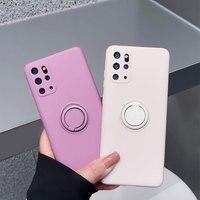 Para Samsung Galaxy S20 FE S21 Ultra S10 más S8 S9... funda trasera de silicona para Samsung Nota 20 10 Plus