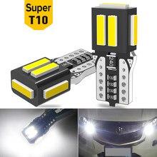 حزمة مصباح ليد لمبات T10 W5W 194 168 Led سيارة التخليص مصابيح داخلية الأبيض 12V لمرسيدس W203 W205 W204 W211 W212 W220